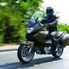 Rüzgarda motosiklet kullanmak!